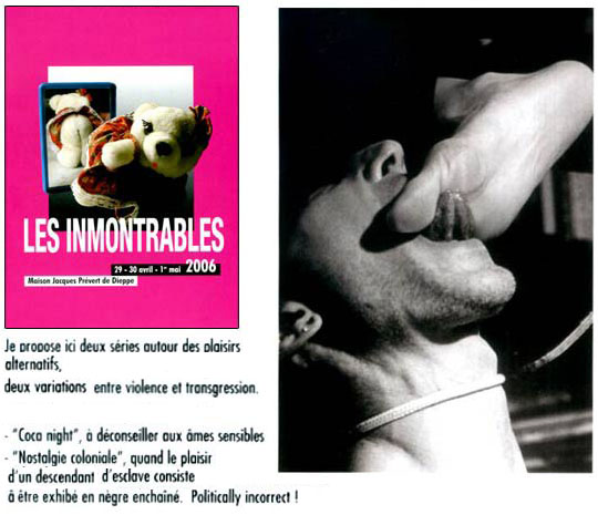 les immontrables, catalogue + photo